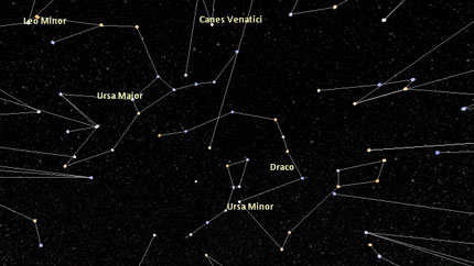 moving pictures of constellations and solar system - photo #12