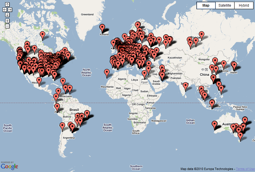 Visitors From All Over the World « Universe Sandbox | blog