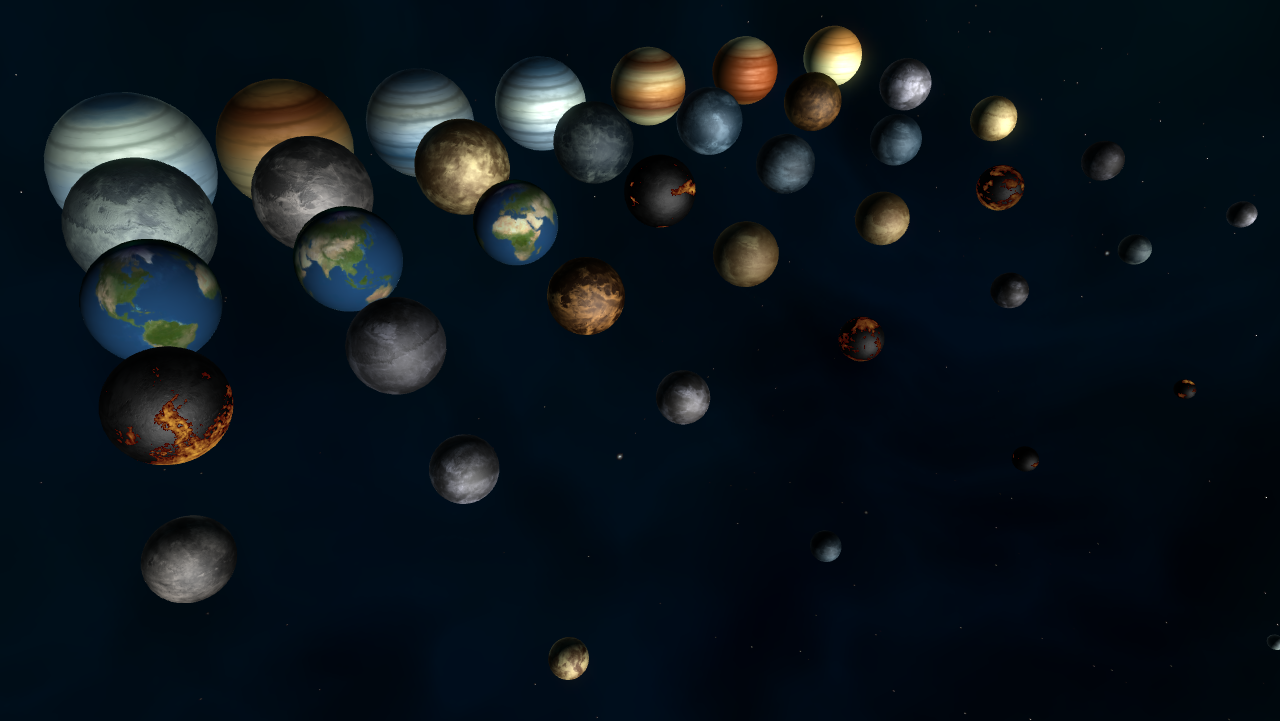 all planets in the galaxy - photo #42