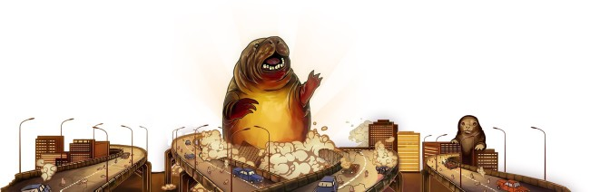huge seal