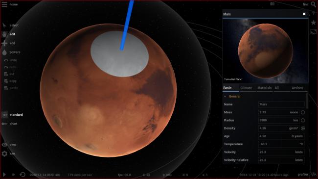 Universe Sandbox ² - Mars Climate