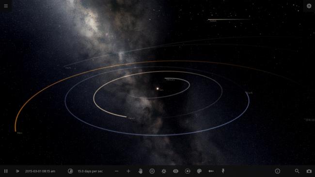 Universe Sandbox ² - Alpha 15 UI