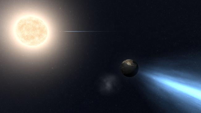 Universe Sandbox ² - Earth Comets