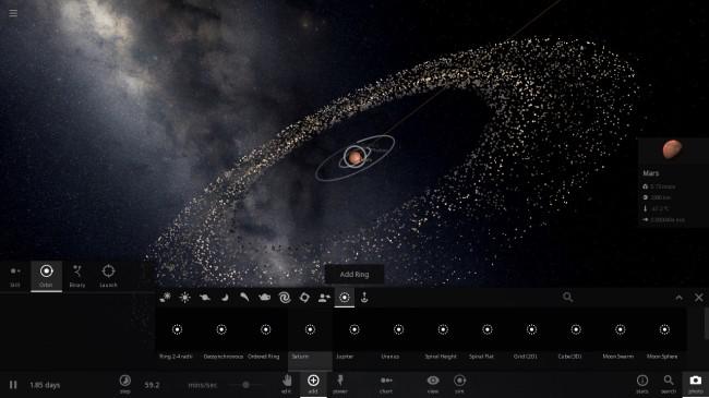Universe Sandbox ² - Mars Rings