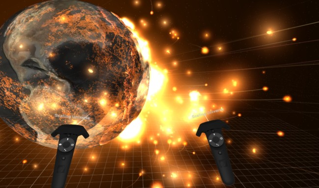 Universe Sandbox ² - Earth Explosion VR