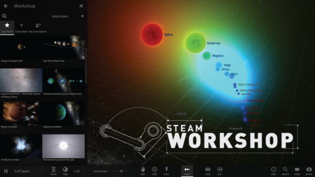 The Universe Just Got Bigger: Steam Workshop Support | Update 22
