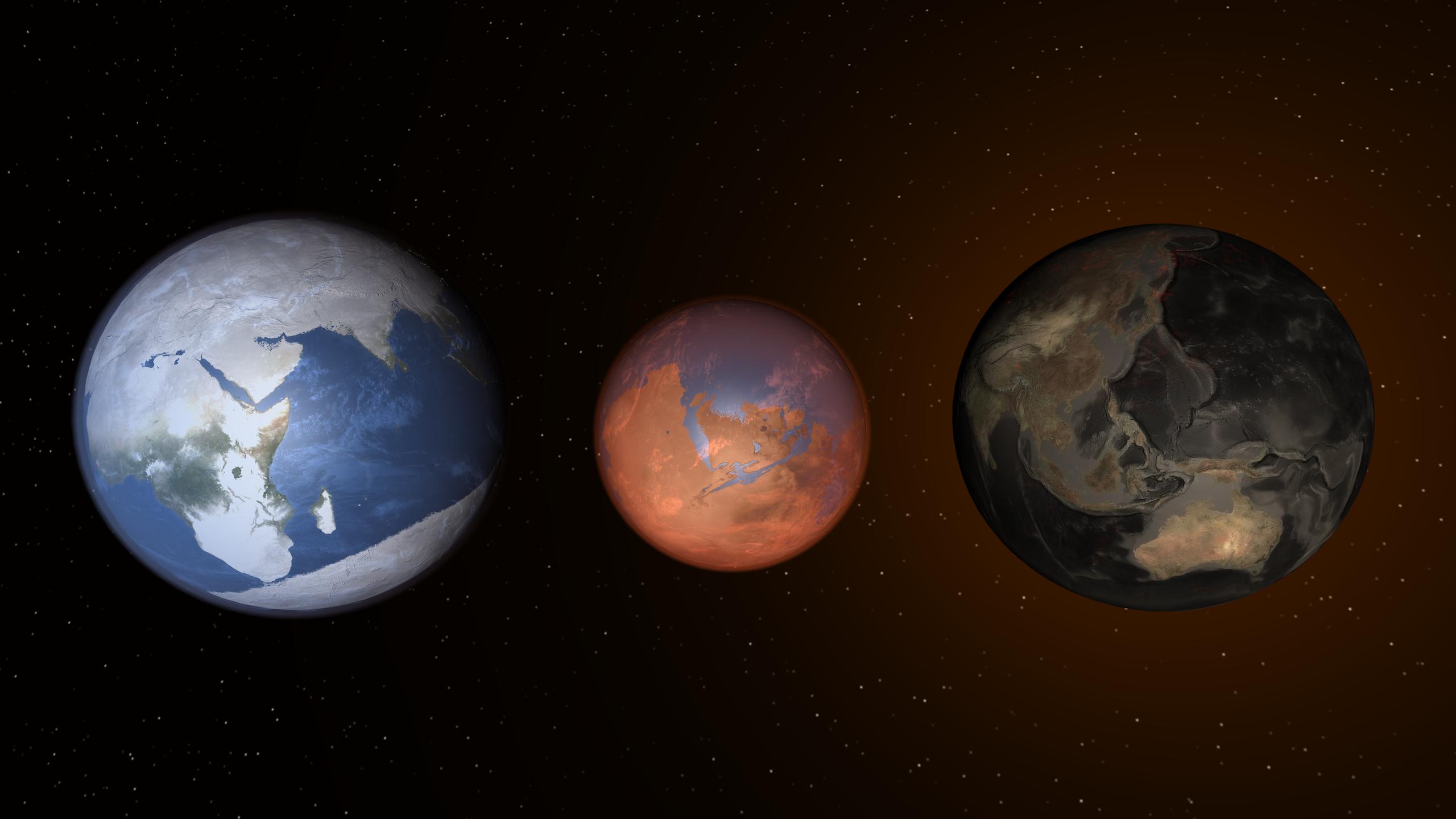 planet mars temperature - photo #49